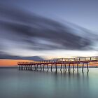 Hervey Bay Dawn Qld Australia by Beth  Wode