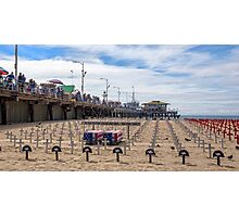 Arlington West, Santa Monica California Photographic Print