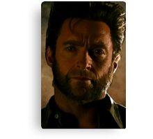 Hugh Jackman Wolverine Digital Painting Canvas Print