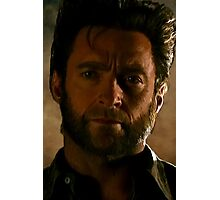 Hugh Jackman Wolverine Digital Painting Photographic Print