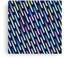 Abstract cosmic rain Canvas Print