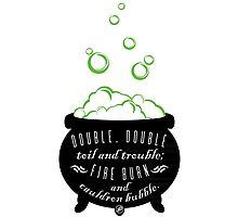 Double, Double Toil & Trouble Photographic Print