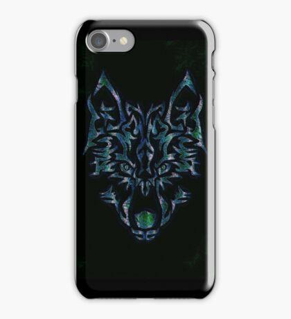 Tribal Wolf Design iPhone Case/Skin