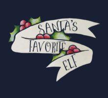 Santas favorite ELF One Piece - Short Sleeve