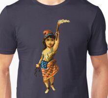Vintage Lady Liberty Unisex T-Shirt