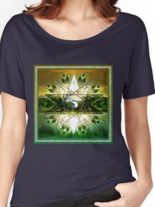 Earth Star Chakra Women's Relaxed Fit T-Shirt