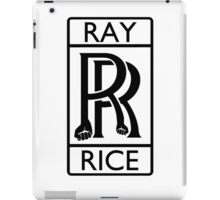 Ray Rice - Rolls Royce parody iPad Case/Skin