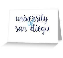 University of San Diego Greeting Card