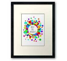 Walk the Moon Bubble Framed Print