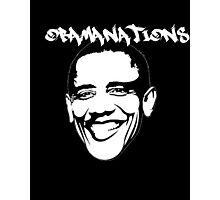 Obamanations Shirt Photographic Print