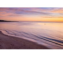 Sunset Paddle Photographic Print