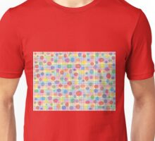 Rainbow Weave and Polka Dots Unisex T-Shirt