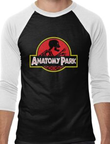 anatomy park Men's Baseball ¾ T-Shirt