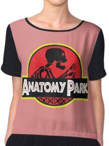 anatomy park Chiffon Top