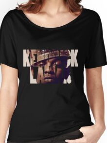 "Kendrick Lamar ""King"" Design Women's Relaxed Fit T-Shirt"