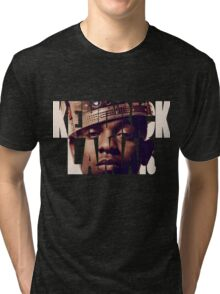 "Kendrick Lamar ""King"" Design Tri-blend T-Shirt"