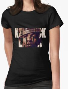 "Kendrick Lamar ""King"" Design Womens Fitted T-Shirt"