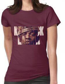 "Kendrick Lamar ""King"" Design Womens Fitted T-Shirt"