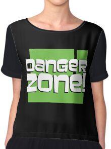 Danger Zone! (ARCHER) Chiffon Top