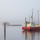 Fog in the Harbour by Kerrie Gerlach