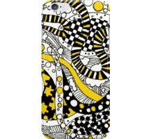 Zendoodle Orb- Yellow iPhone Case/Skin