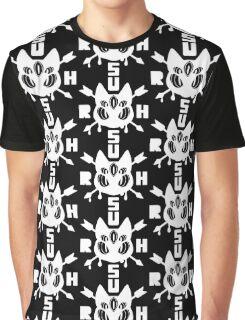 RUSH WHITE Graphic T-Shirt