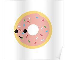 Kawaii Donut Poster