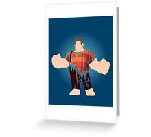 I'm gonna wreck it! Greeting Card