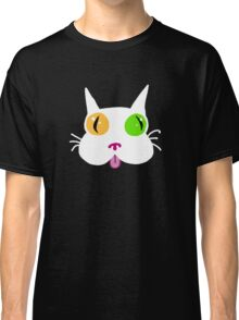 Silly White Kitty Cat Classic T-Shirt