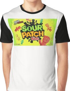 Sour Patch Kids candy package front Graphic T-Shirt