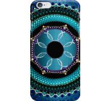 Sky Blue Mandala iPhone Case/Skin