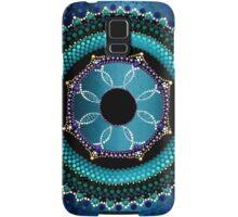 Sky Blue Mandala Samsung Galaxy Case/Skin