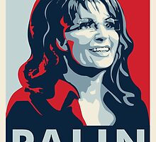Sarah Palin by rightposters