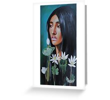 Her Roots Grew Deep Greeting Card