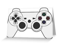 Ps3 Controller Greeting Card