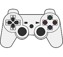 Ps3 Controller Photographic Print