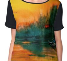 Away To The Woods... Chiffon Top