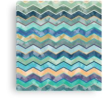 Watercolor Wave  Canvas Print