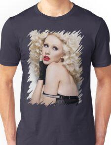 Christina Aguilera - Oil Paint Art Unisex T-Shirt