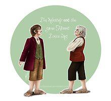 Bilbo Baggins reminiscing   by nikowned