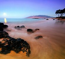 Pre-Dawn, Maui by Michael Treloar
