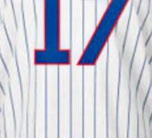 Chicago Cubs Bryant Jersey  Sticker