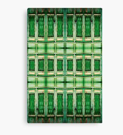 SPANISH GREEN DOOR Canvas Print