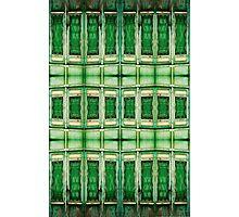 SPANISH GREEN DOOR Photographic Print