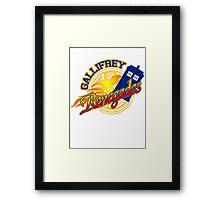 Gallifrey Renegades! Framed Print