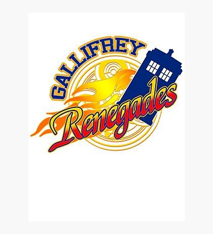 Gallifrey Renegades! Photographic Print