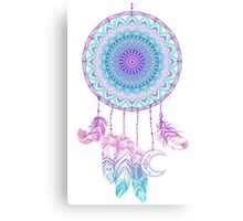 Mandala in dreamcatcher Canvas Print