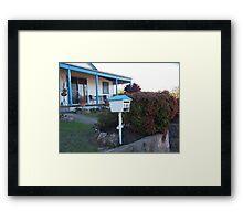 Blue NSW Framed Print