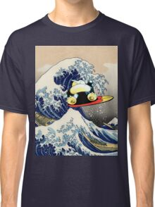 Snorlax Learned Surf! Classic T-Shirt