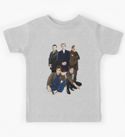 Doctor Who - The Doctors Kids Tee